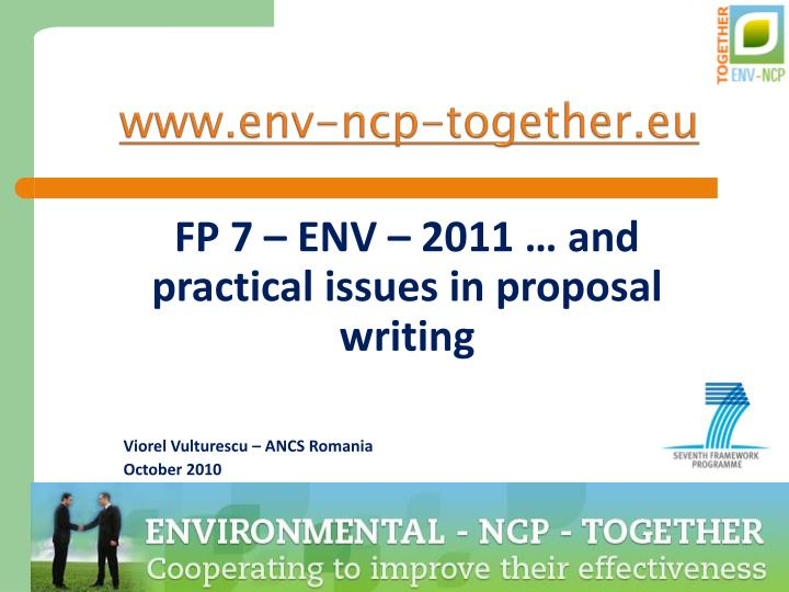 Www env ncp together eu