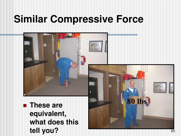 Similar Compressive Force