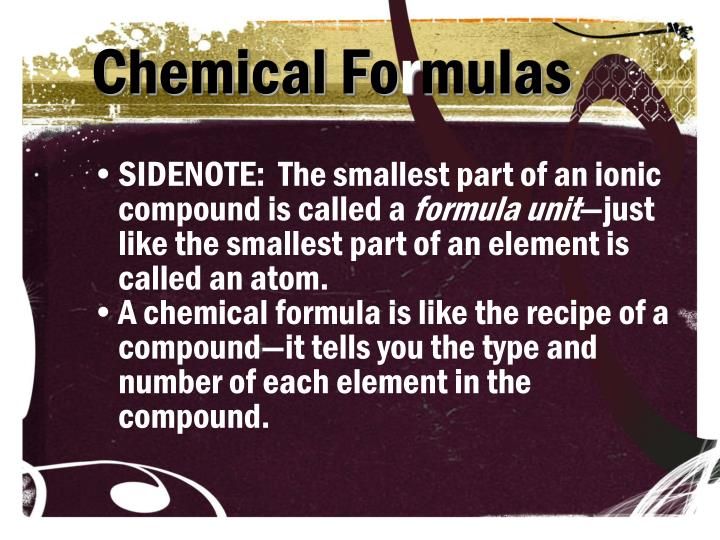 Chemical Fo