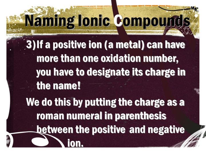Naming Ionic