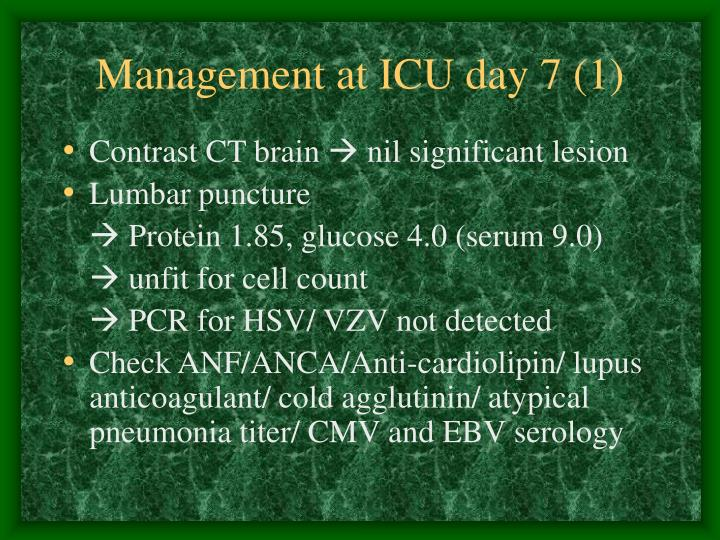 Management at ICU day 7 (1)
