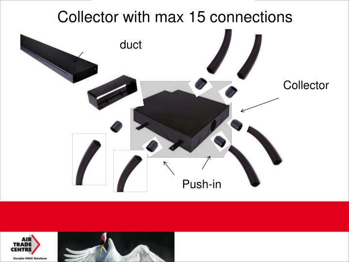 Collector with max 15 connections