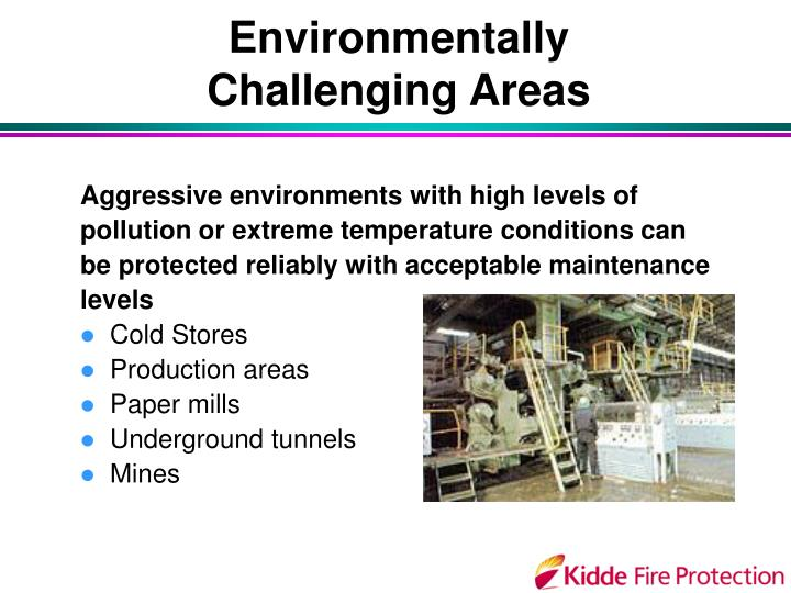 Environmentally Challenging Areas