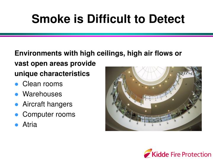 Smoke is Difficult to Detect