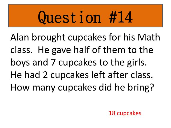 Question #14