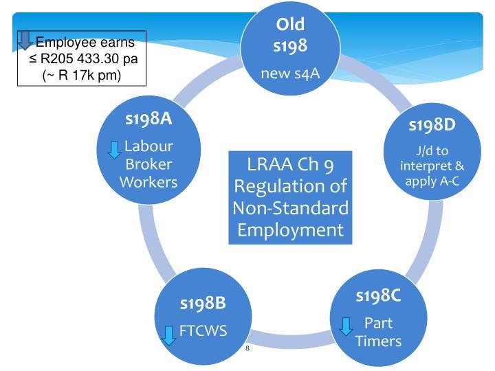 Employee earns