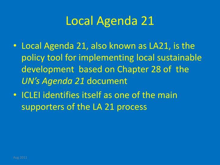 Local Agenda 21