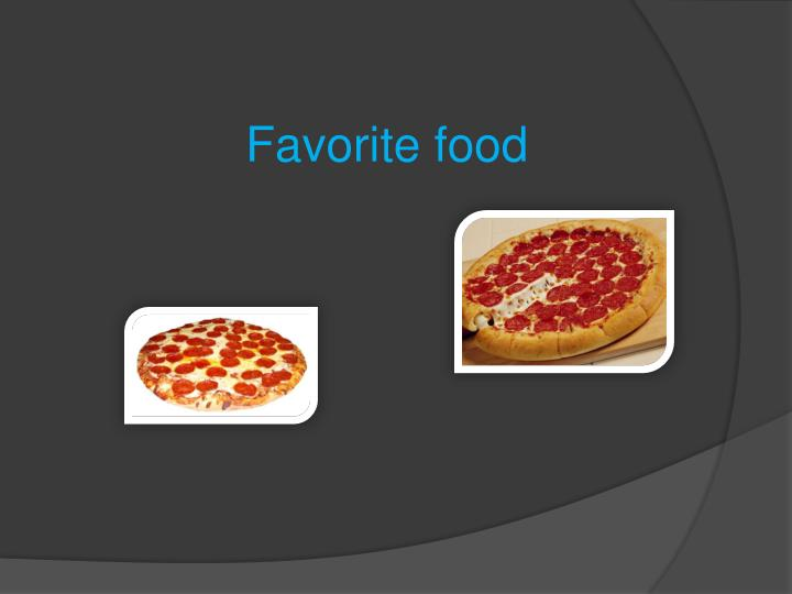 Favorite food