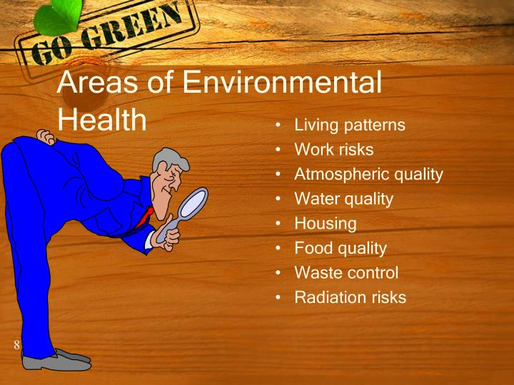 Areas of Environmental Health