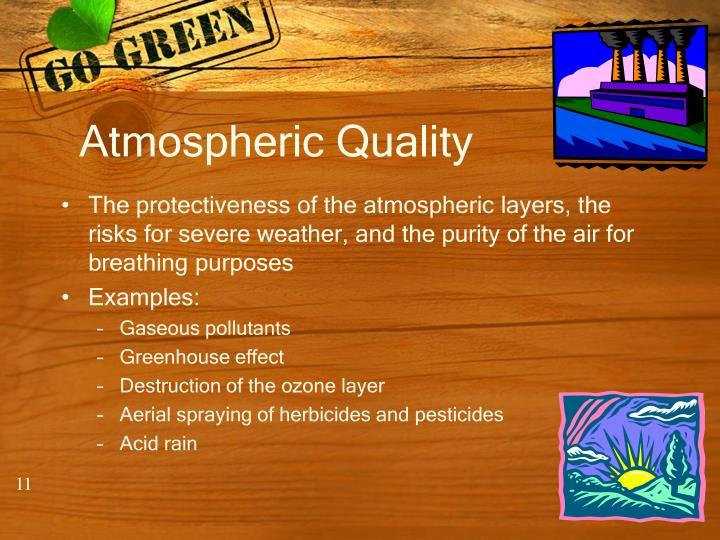 Atmospheric Quality