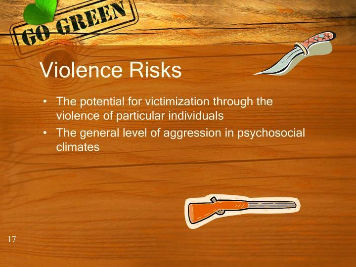 Violence Risks