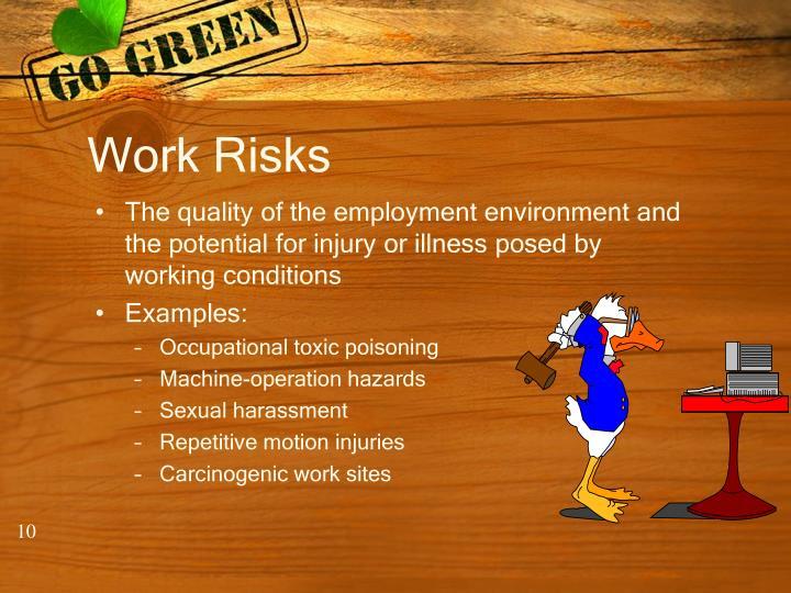 Work Risks