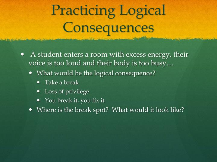 Practicing Logical Consequences