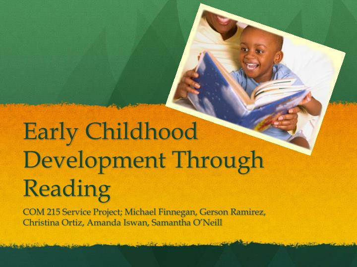 Early childhood development through reading