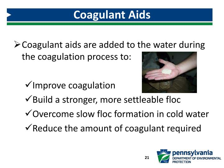 Coagulant Aids
