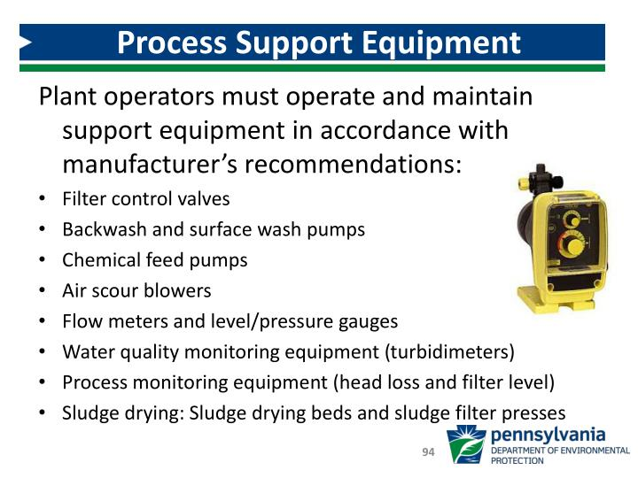 Process Support Equipment