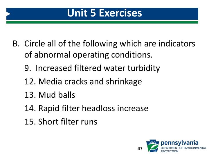 Unit 5 Exercises