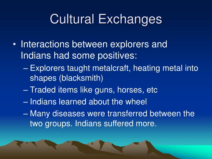 Cultural Exchanges
