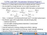 1 d pic code asp acceleration schedule program