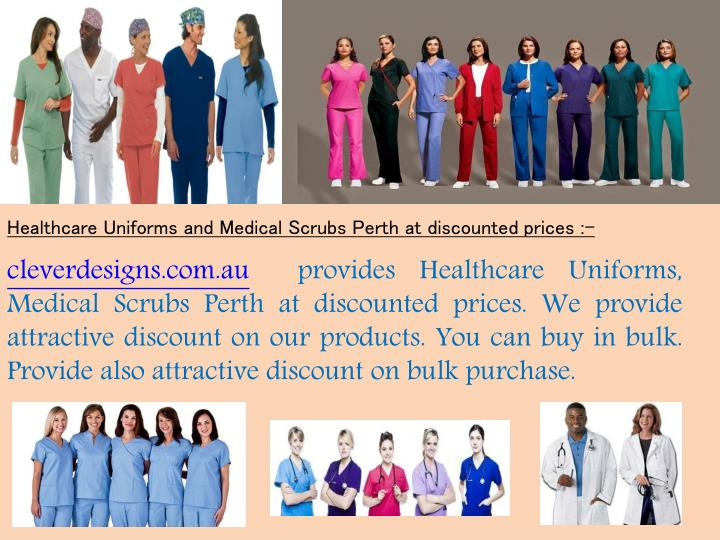 Healthcare Uniforms and Medical Scrubs Perth at discounted