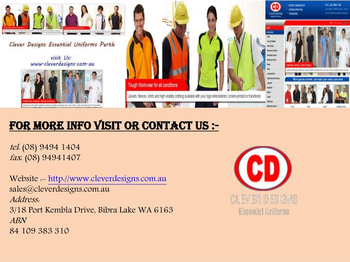 For More info visit or Contact us :-