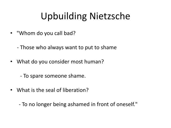 Upbuilding