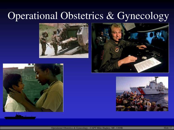 Operational Obstetrics & Gynecology