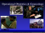 operational obstetrics gynecology