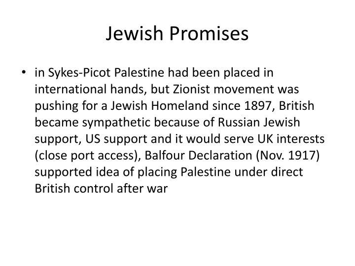 Jewish Promises