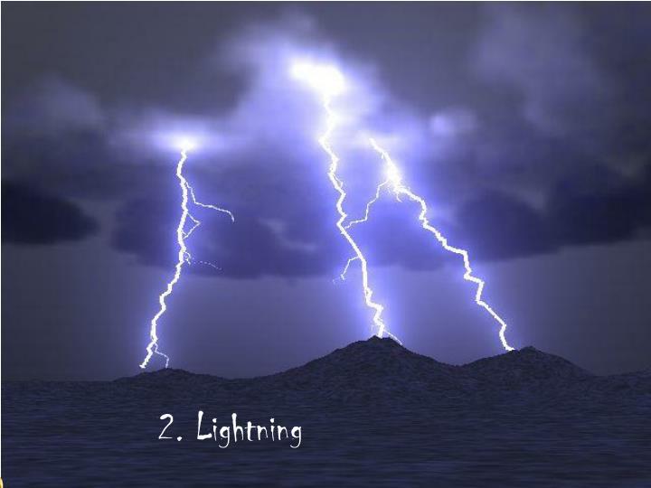 2. Lightning