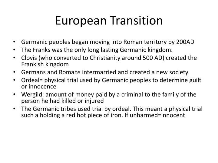 European Transition