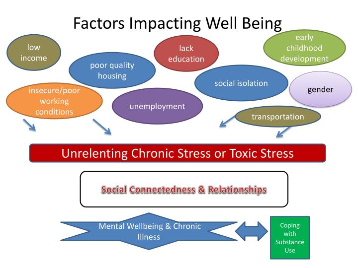 Factors Impacting Well Being