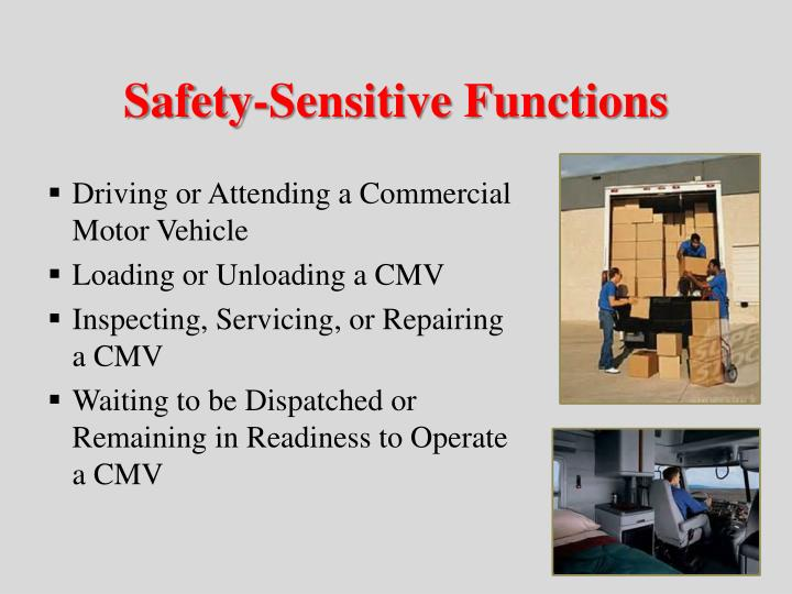 Safety-Sensitive Functions
