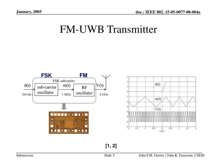 FM-UWB Transmitter