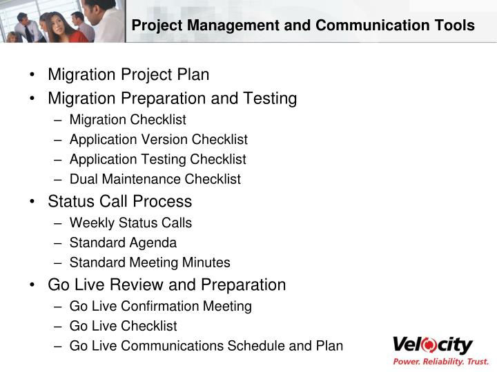 Project Management and Communication Tools