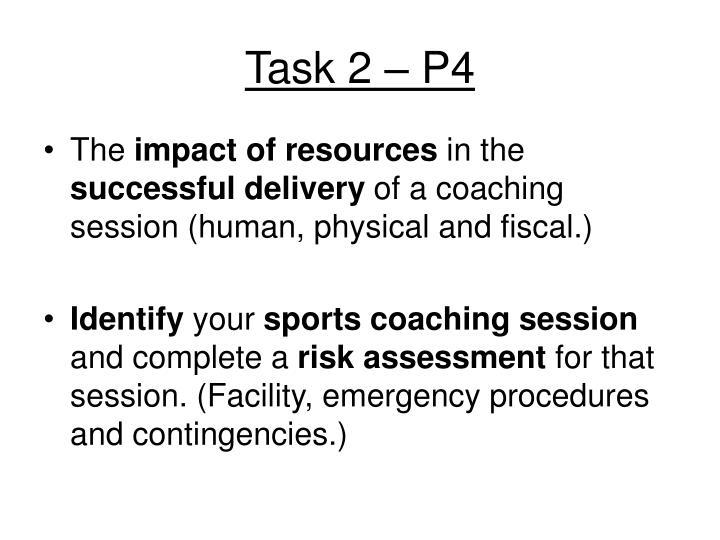 Task 2 – P4