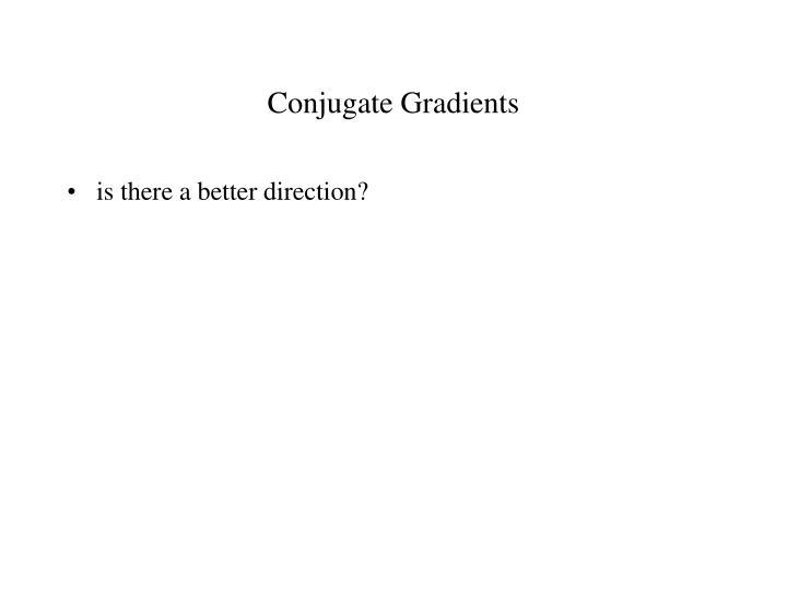 Conjugate Gradients