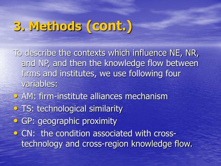 3. Methods