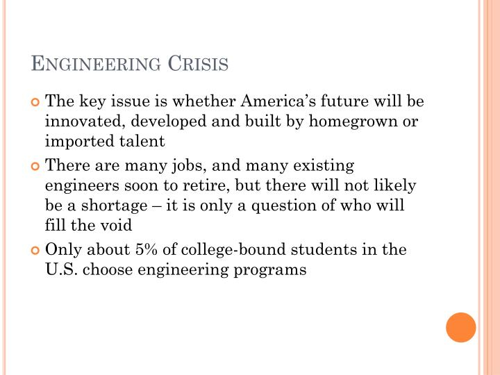 Engineering Crisis