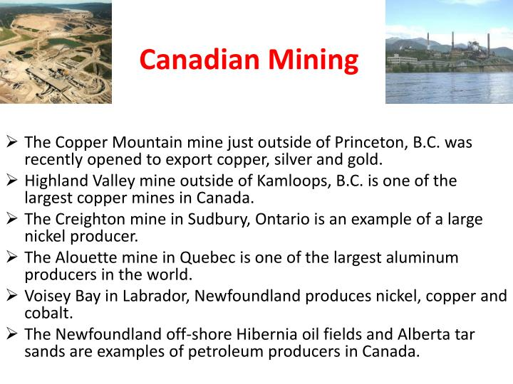 Canadian Mining