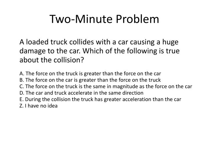 Two-Minute Problem