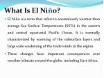 what is el ni o
