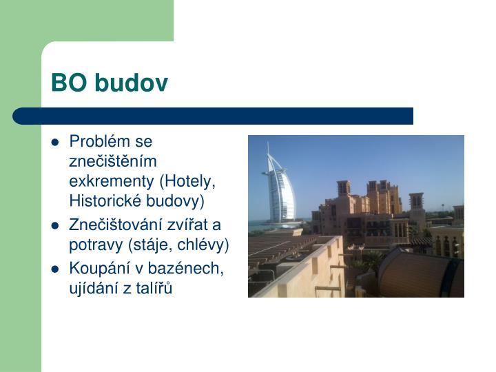 BO budov