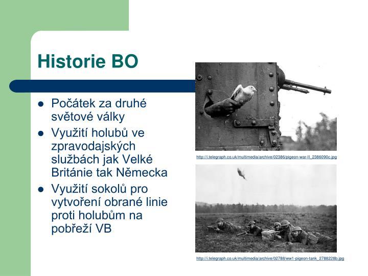 Historie BO