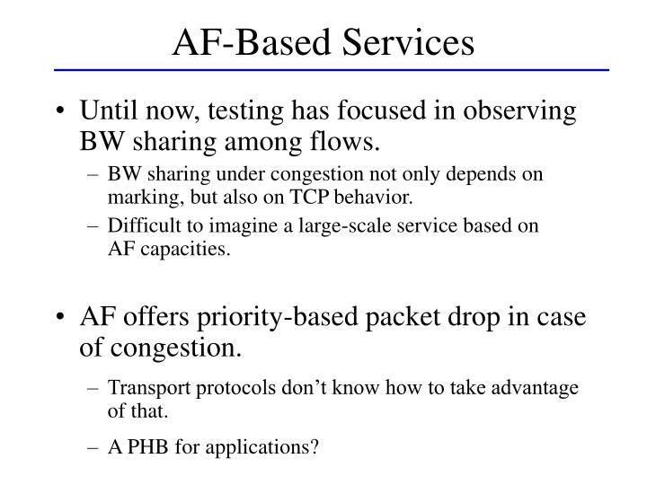 AF-Based Services