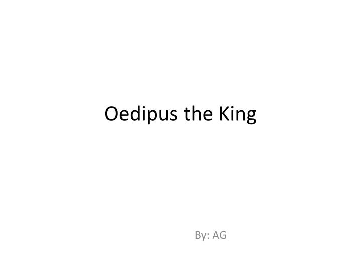oedipus rex essays on blindness Oedipus rex essay sample the play oedipus rex is often viewed as an example of a classic greek tragic drama because it contains both tragic and dramatic elements the main character, the protagonist oedipus, due to his hubris, makes errors in judgement which lead to his eventual downfall.