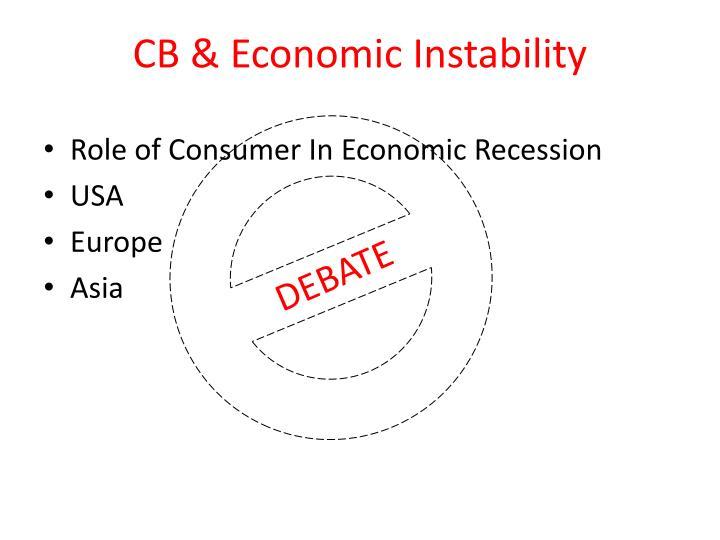 CB & Economic Instability