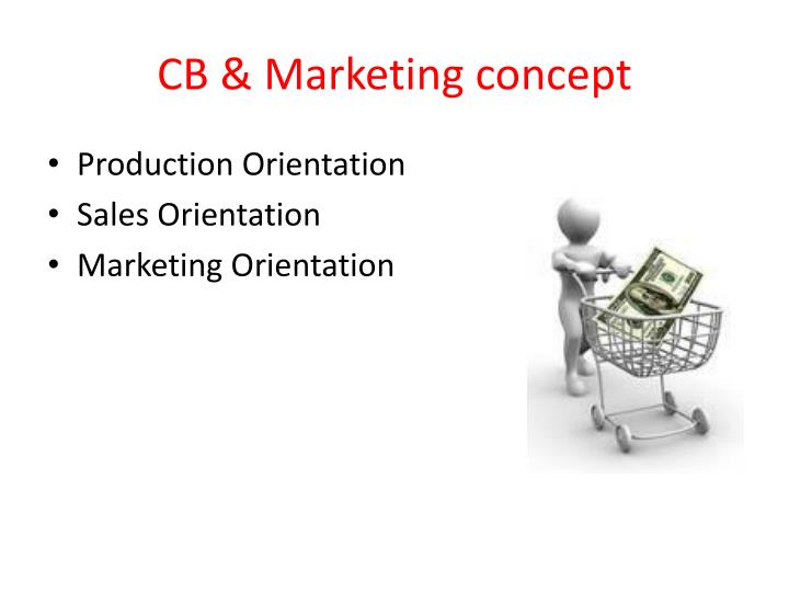 Cb marketing concept