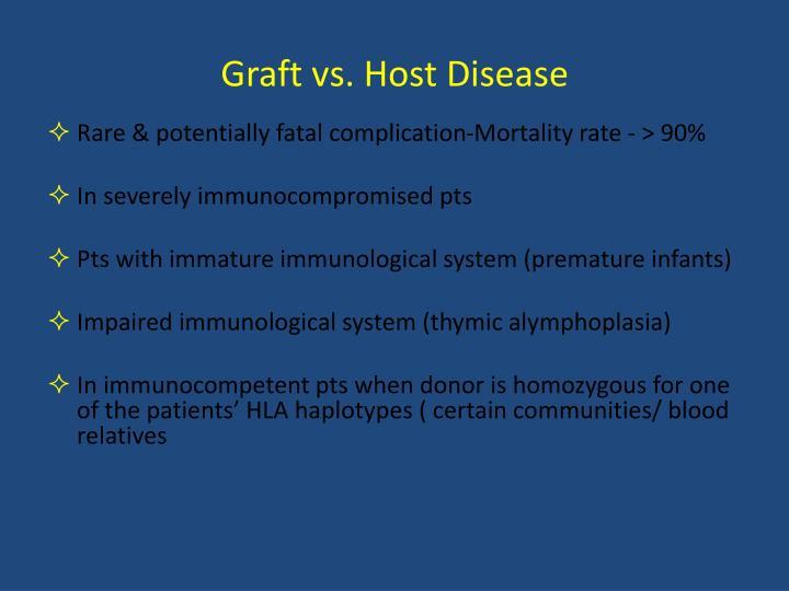 Graft vs. Host Disease