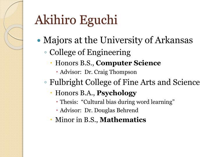Akihiro Eguchi